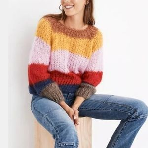 Madewell x Maiami Mohair Basic Striped Sweater